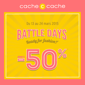 Battle Days -50% !