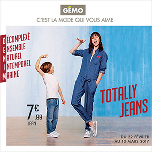 La collection Totally Jeans de Gémo est disponible !