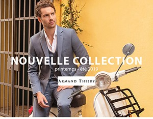 Nouvelle collection Printemps-été chez Armand Thiery !